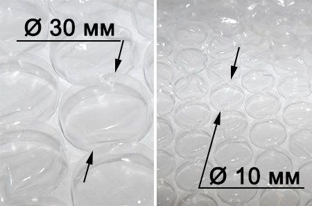 Воздушно-пузырьковая пленка для теплиц
