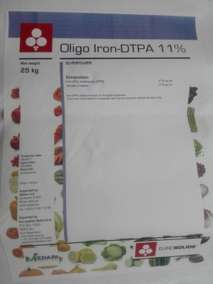 Хелат железа (Oligo Iron) DTPA 11%