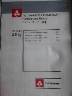 Сульфат калия K2SO4 (Potassium Sulphate HG) EUROSOLIDS